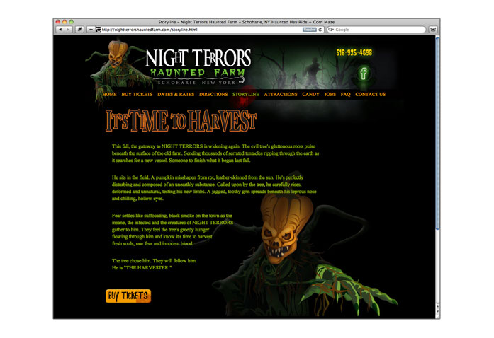 Night Terrors Haunted Farm: - A terrifying haunted Halloween experience is just down the road in Shoharie, NY.