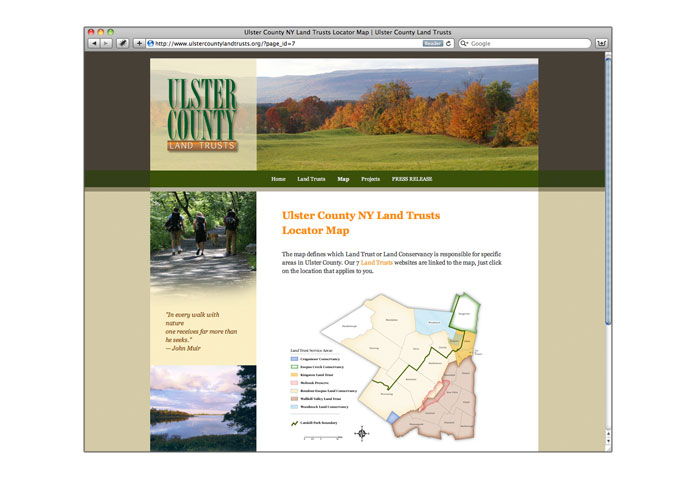 Visit Ulster County Land Trusts: - The land trusts and conservancies that operate in Ulster County, NY.